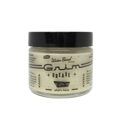Grim Grease Heavy Hold Pomade 2oz (tặng lược + gội xả Aurane 40ml)