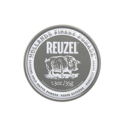 Reuzel Extreme Hold Matte Pomade Travel Size 35 gram (tặng lược + gội xả Aurane 40ml)