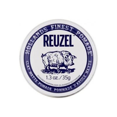 Reuzel Clay Matte Pomade Travel Size 35 gram (tặng lược + gội xả Aurane 40ml)