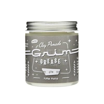 Grim Grease Clay Pomade 4oz (Frim Hold) (tặng lược + gội xả Aurane 40ml)