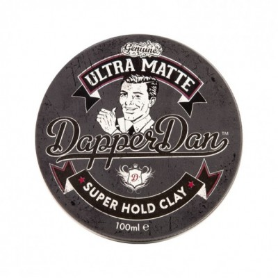 Dapper Dan Super Hold Clay Ultra Matte (tặng lược + gội xả Aurane 40ml)