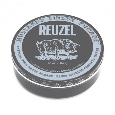Reuzel Extreme Hold Matte Pomade 340 gram (tặng lược + gội xả Aurane 40ml)