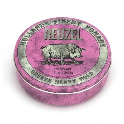 Reuzel Pink Pomade 340 gram (tặng lược + gội xả Aurane 40ml)