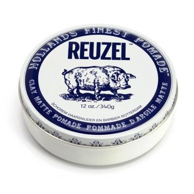 Reuzel Clay Matte Pomade 340 gram (tặng lược + gội xả Aurane 40ml)