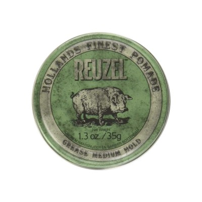 Reuzel Green Pomade Travel Size 35 gram (tặng lược + gội xả Aurane 40ml)