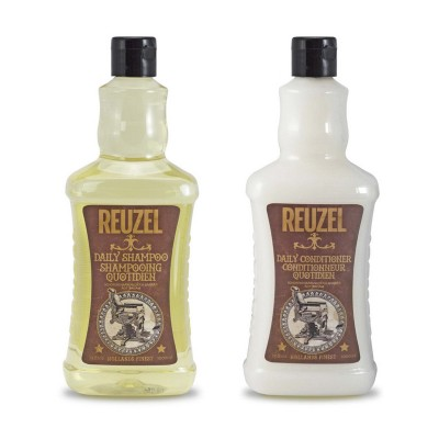 Dầu gội và dầu xả Reuzel Daily Shampoo & Conditioner 1000ml (tặng lược + dầu gội Aurane 40ml)