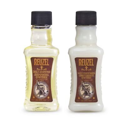 Dầu gội và dầu xả Reuzel Daily Shampoo & Conditioner 100ml (tặng lược + dầu gội Aurane 40ml)