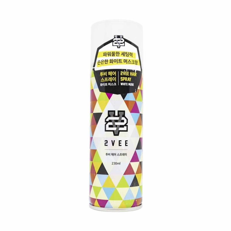 Gôm xịt tóc 2Vee (tặng lược + dầu gội Aurane 40ml)