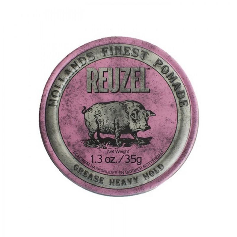 Reuzel Pink Pomade Travel Size 35 gram (tặng lược + gội xả Aurane 40ml)