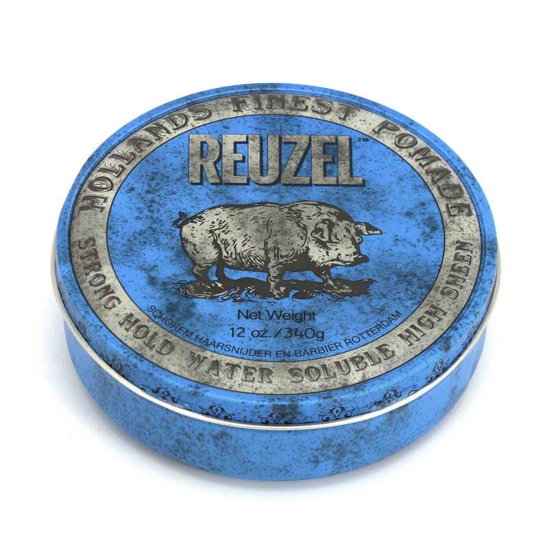 Reuzel Blue Pomade 340 gram (tặng lược + dầu gội Aurane 40ml)