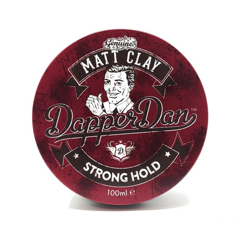 Dapper Dan Matt Clay Strong Hold (tặng lược + dầu gội Aurane 40ml)