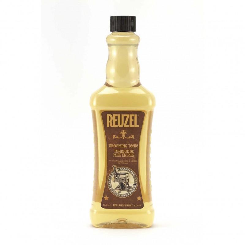 Reuzel Grooming Tonic (vàng) 500ml (tặng lược + dầu gội Aurane 40ml)