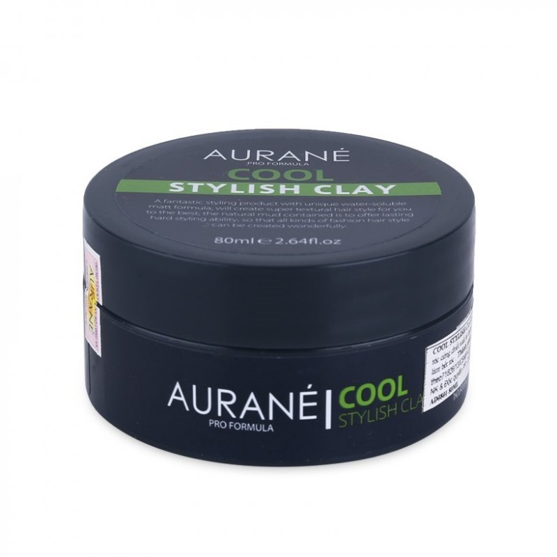 Aurane Cool Stylish Clay (tặng lược + gội xả Aurane 40ml)