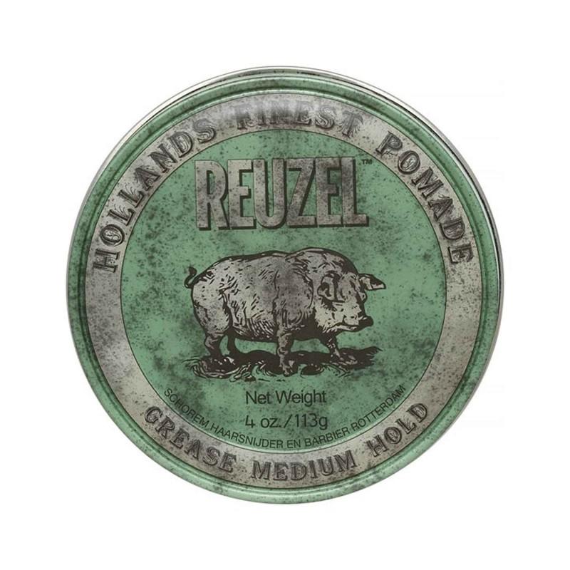 Reuzel Green Pomade (tặng lược + gội xả Aurane 40ml)