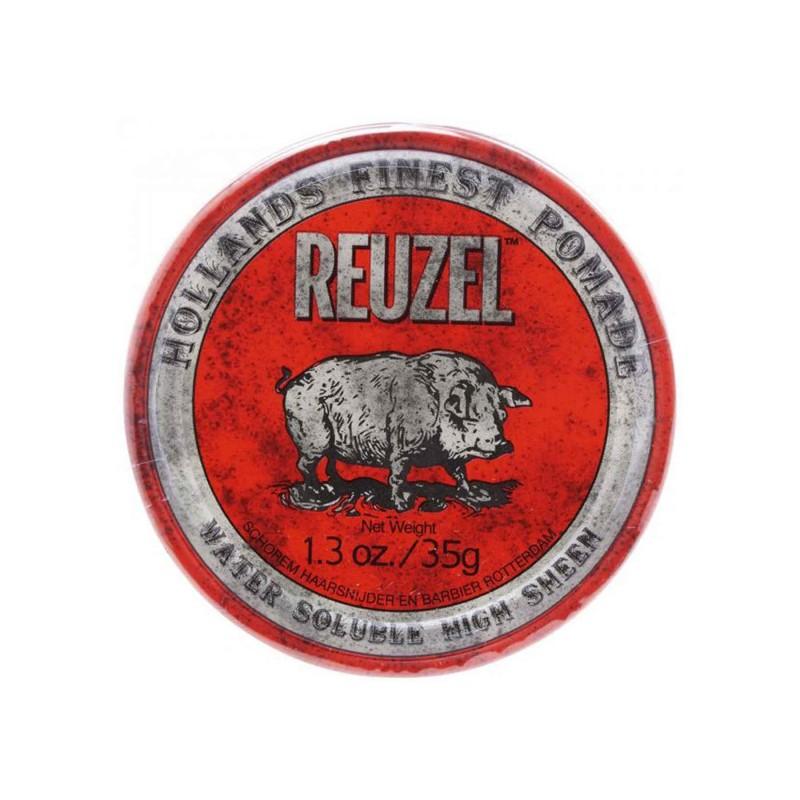 Reuzel Red Pomade Travel Size 35 gram (tặng lược + gội xả Aurane 40ml)