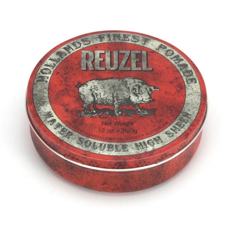 Reuzel Red Pomade 340 gram (tặng lược + dầu gội Aurane 40ml)