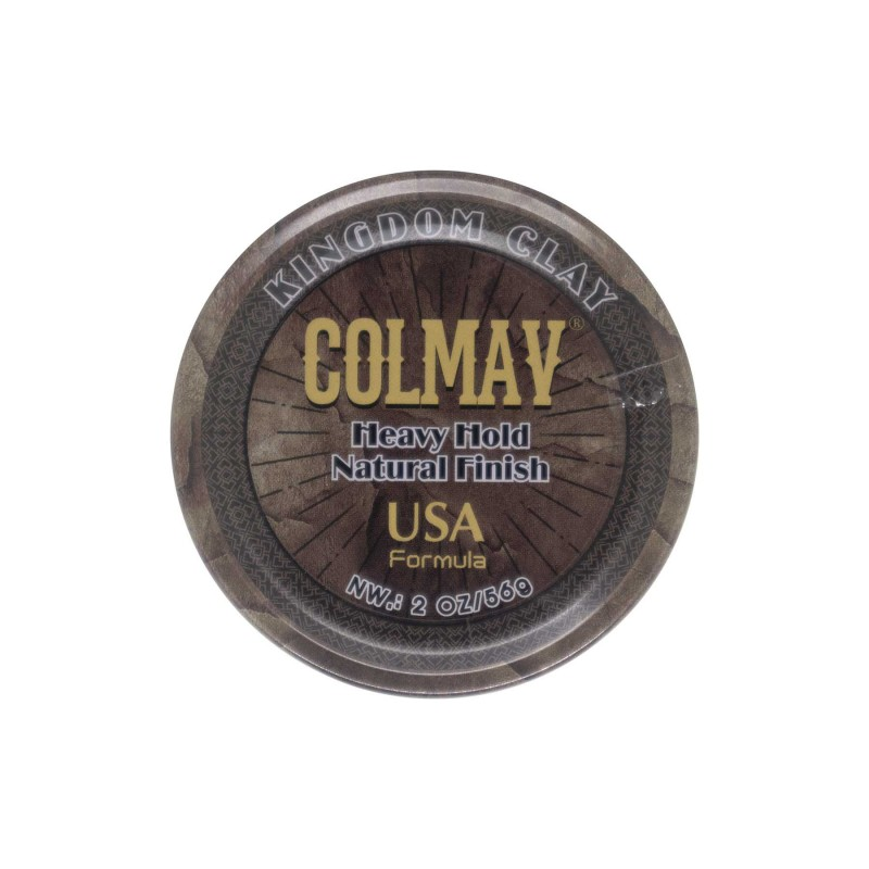 Colmav Kingdom Clay Travel Size 56 gram (tặng lược + dầu gội Aurane 40ml)