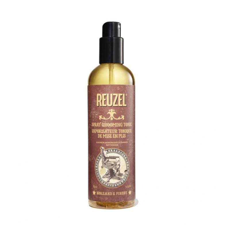Reuzel Spray Grooming Tonic (vàng) 355ml (tặng lược + dầu gội Aurane 40ml)